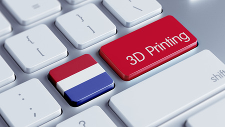 Netherlands High Resolution 3d Printing Concept