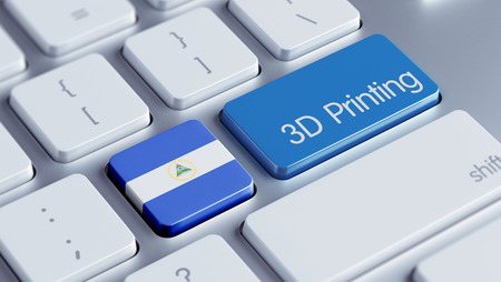 three dimensions: Nicaragua High Resolution 3d Printing Concept
