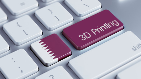 three dimensions: Qatar High Resolution 3d Printing Concept