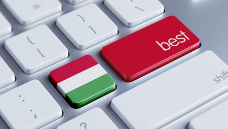 optimum: Hungary High Resolution Best Concept Stock Photo