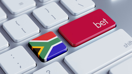 bet: South Africa High Resolution Bet Concept Stock Photo