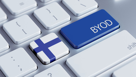 Finland High Resolution Byod Concept Stock Photo - 28737763