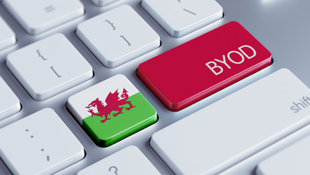 Wales High Resolution Byod Concept photo