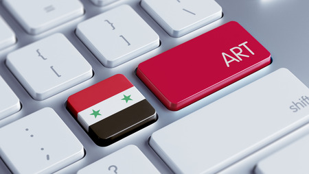 Syria High Resolution Art Concept photo
