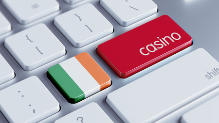 roulette online: Ireland High Resolution Casino Concept Stock Photo