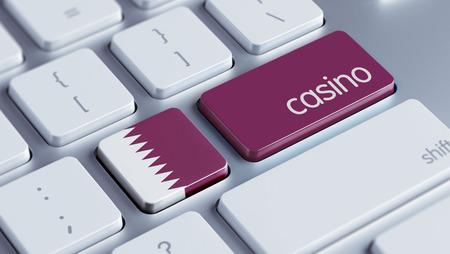 roulette online: Qatar High Resolution Casino Concept Stock Photo