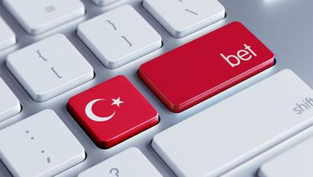 Turkey High Resolution Bet Concept