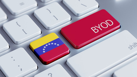 Venezuela High Resolution Byod Concept photo