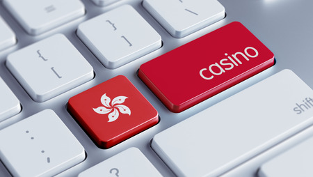 roulette online: Hong Kong High Resolution Casino Concept Stock Photo