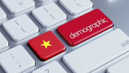demographic: Vietnam High Resolution Demographic Concept