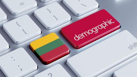 demographic: Lithuania High Resolution Demographic Concept