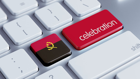 angola: Angola High Resolution Celebration Concept Stock Photo