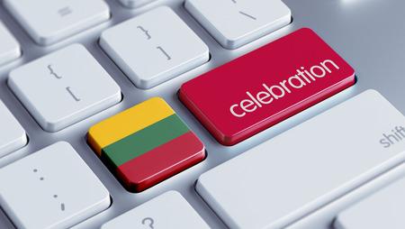 lithuania: Lithuania High Resolution Celebration Concept