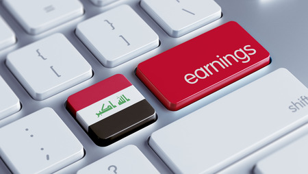 earnings: Iraq High Resolution Earnings Concept