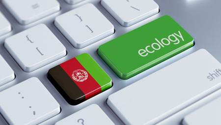 Afghanistan  High Resolution Ecology Concept Stock Photo