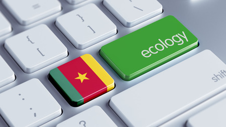 Cameroon High Resolution Keyboard Concept