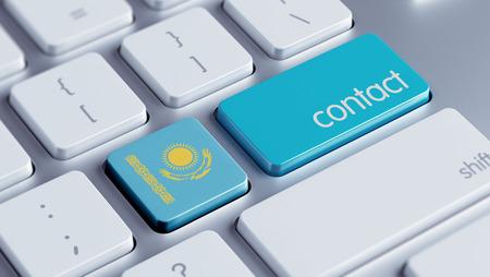 Kazakhstan High Resolution Contact Concept photo