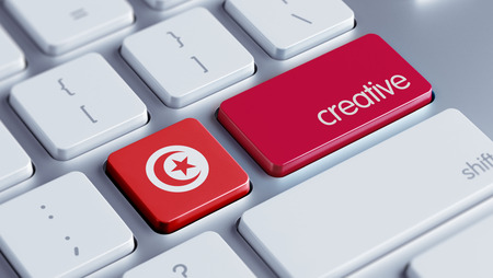 tunisie: Tunisia High Resolution Creative Concept