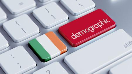 irish ethnicity: Ireland High Resolution Demographic Concept
