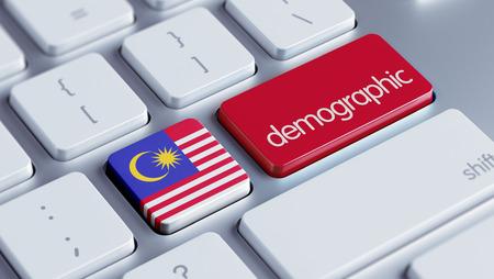 demographic: Malaysia High Resolution Demographic Concept