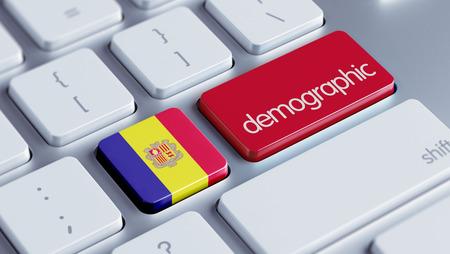 demographic: Andorra High Resolution Demographic Concept