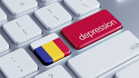 collapsing: Romania High Resolution Depression Concept