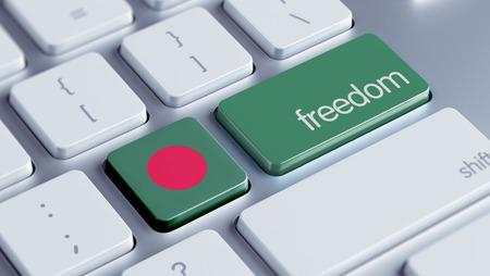 bangladesh 3d: Bangladesh High Resolution Freedom Concept