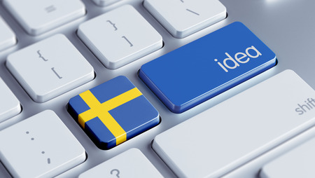 education in sweden: Sweden High Resolution Idea Concept Stock Photo