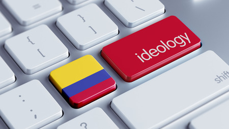 ideology: Colombia High Resolution Ideology Concept