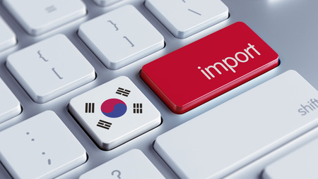 South Korea High Resolution Keyboard Concept Stock Photo - 28805376
