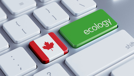 Canada High Resolution Ecology Concept