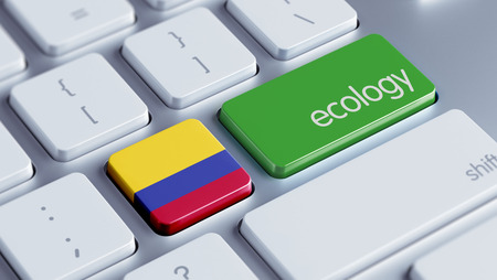 Colombia High Resolution Ecology Concept