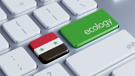 Syria High Resolution Ecology Concept Stock Photo