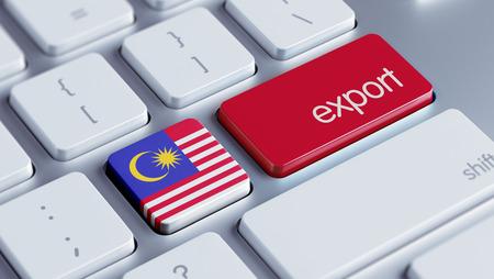 Malaysia High Resolution Export Concept Stock Photo - 28813283