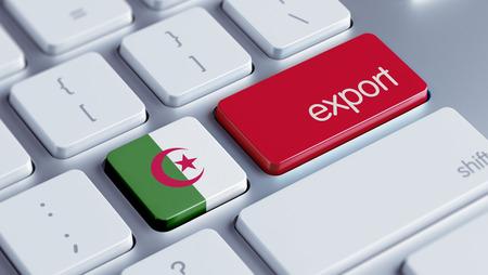 Algeria High Resolution Export Concept Stock Photo - 28813295