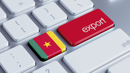 Cameroon High Resolution Keyboard Concept Stock Photo - 28813374