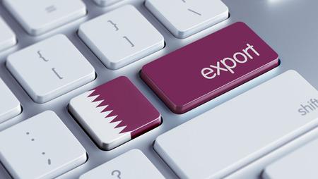 Qatar High Resolution Export Concept Stock Photo - 28813424