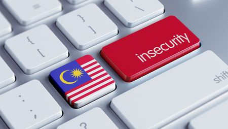 insecurity: Malaysia High Resolution Insecurity Concept