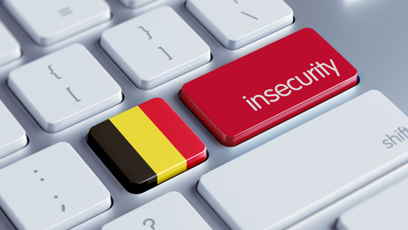 insecurity: Belgium High Resolution Insecurity Concept