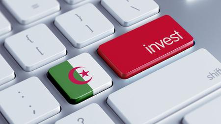 strategist: Algeria High Resolution Invest Concept Stock Photo
