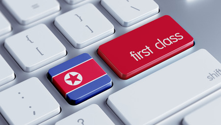 superlative: North Korea High Resolution First Class Concept Stock Photo