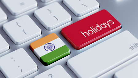 India High Resolution Holidays Concept