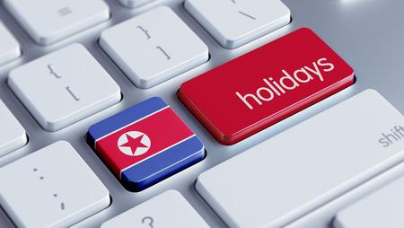North Korea High Resolution Holidays Concept