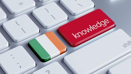 dogma: Ireland High Resolution Knowledge Concept Stock Photo