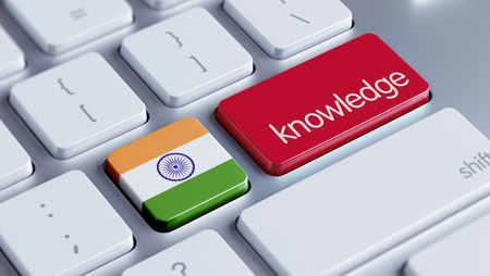 dogma: India High Resolution Knowledge Concept Stock Photo