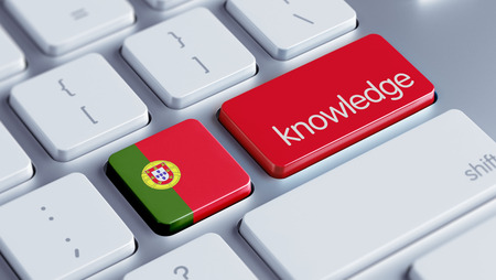 dogma: Portugal High Resolution Knowledge Concept Stock Photo