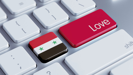 Syria High Resolution Love Concept photo