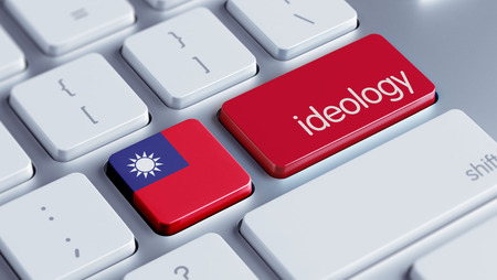 ideology: Taiwan High Resolution Ideology Concept Stock Photo