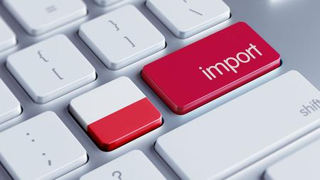 Poland High Resolution Import Concept Stock Photo - 28839017