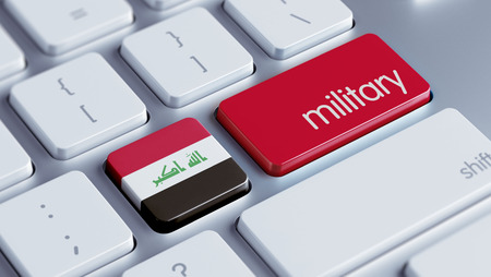 major force: Iraq High Resolution Military Concept Stock Photo